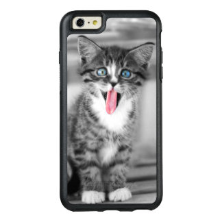 Funny Kitten With Tongue Hanging Out OtterBox iPhone 6/6s Plus Case