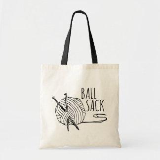 Funny Knitting Ball Sack