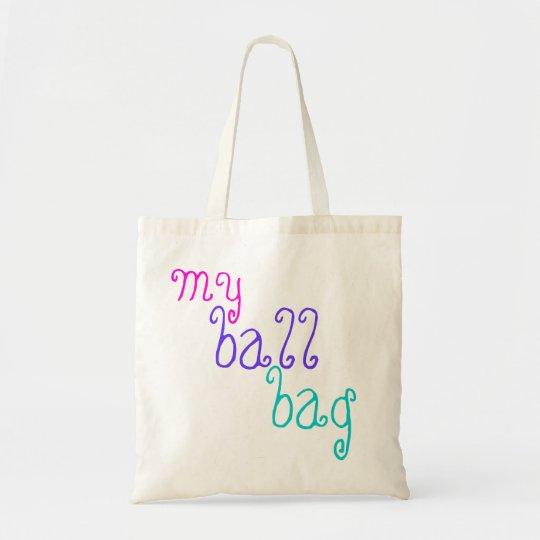 Ballsack Natural or Black Tote Bag