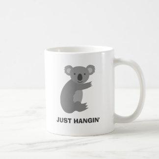 Funny koala bear mug