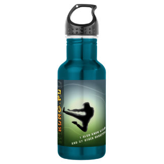 Funny Kung-Fu 532 Ml Water Bottle