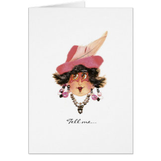 Funny Ladies Card