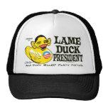 Funny Lame Duck Potus Obama Gear Trucker Hat
