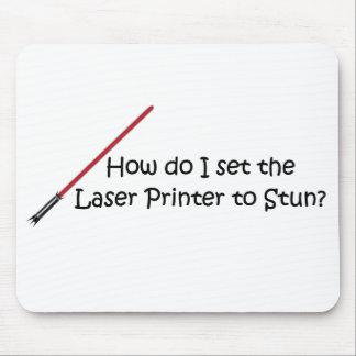 Funny Laser Printer Joke Mouse Pad