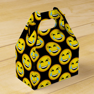 Funny laugh till you cry emoji party box