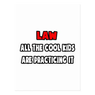 Funny Lawyer Shirts and Gifts Postcard