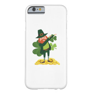 Funny Leprechaun Dab Dabbing St Patricks Day Barely There iPhone 6 Case