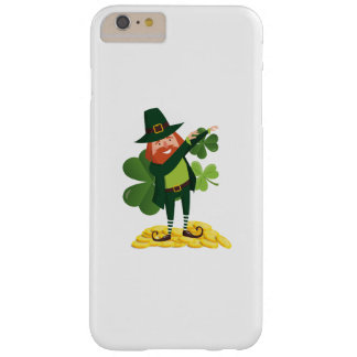 Funny Leprechaun Dab Dabbing St Patricks Day Barely There iPhone 6 Plus Case