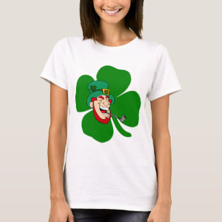 Funny leprechaun Irish St Patricks T-Shirt