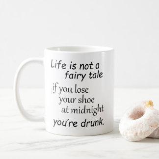 Funny life quotations novelty joke humor sayings coffee mug