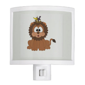 Funny Lion Nite Light