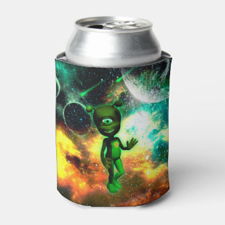 Funny little alien can cooler