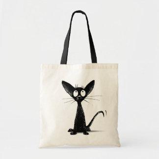 Funny Little Black Cat Bag Bags