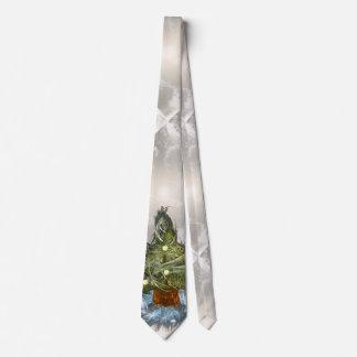 Funny Little Christmas Tree Tie