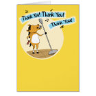 Funny Little Horse Thank You Card