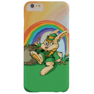 Funny Little Saint Patrick Rabbit Barely There iPhone 6 Plus Case