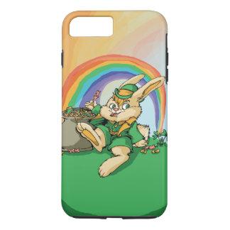 Funny Little Saint Patrick Rabbit iPhone 8 Plus/7 Plus Case