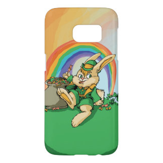 Funny Little Saint Patrick Rabbit Samsung Galaxy S7 Case
