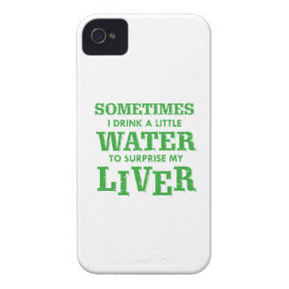 Funny Liver designs iPhone 4 Case