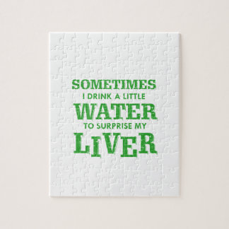 Funny Liver designs Jigsaw Puzzle