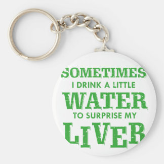 Funny Liver designs Keychain