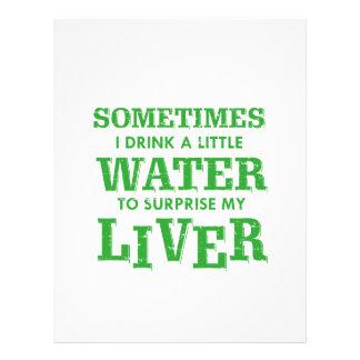 Funny Liver designs Letterhead