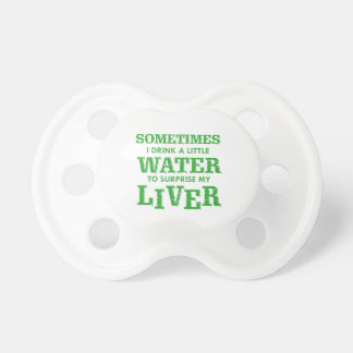 Funny Liver designs Pacifier
