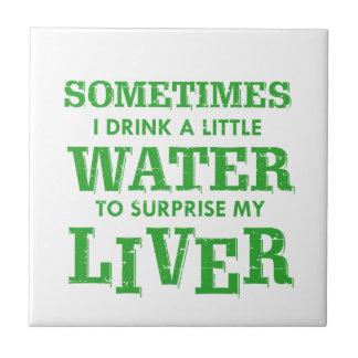 Funny Liver designs Tile