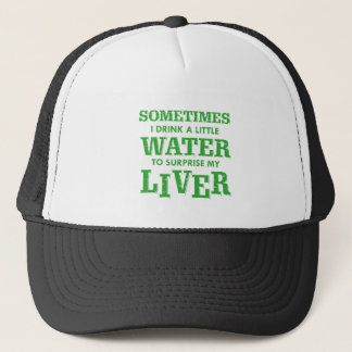 Funny Liver designs Trucker Hat