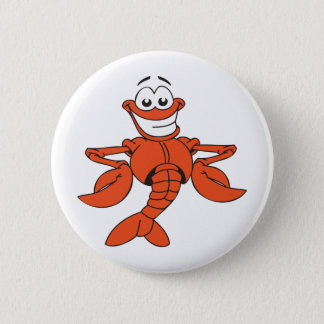 Funny Lobster 2 Inch Round Button