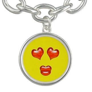 Funny Love Kiss Emoji Smiley Bracelet