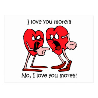 Funny love postcard