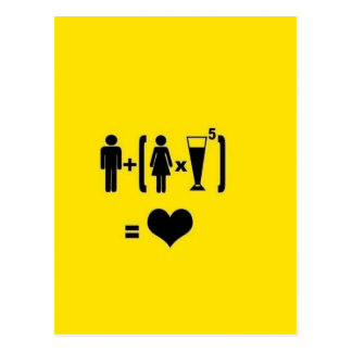 Funny Love Quotes Postcard
