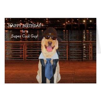 Funny Male Relative Birthday Card