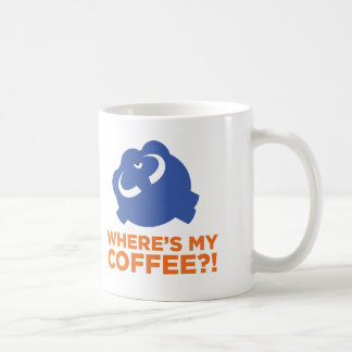 Funny mammoth life. coffee mug