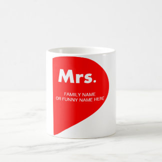 FUNNY MARRIAGE COFFEE MUG