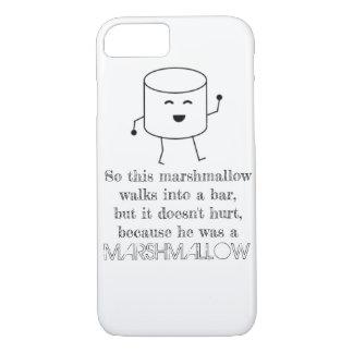 Funny Marshmallow Bar iPhone 7/8 case