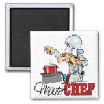 Funny Master Chef Gift Fridge Magnets