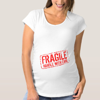 Funny maternity shirt | Fragile handle with care