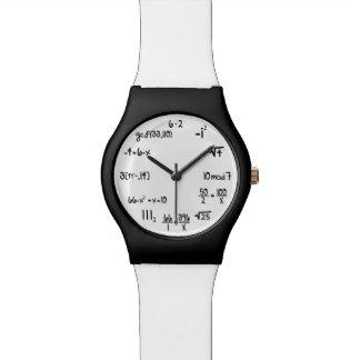 Funny Math Equation Geek Watch