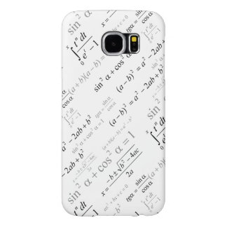 Funny Mathematics Formulas Math Geek Samsung Galaxy S6 Cases