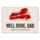 Funny Meat Father' Day Card