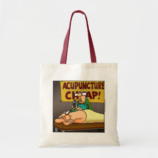 Funny Medical Acupuncture Tote Bag