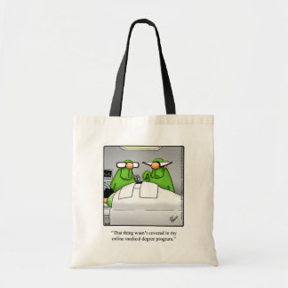 Funny Medical Humor Tote Bag Gift