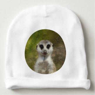Funny Meerkat 002 02.7_rd Baby Beanie