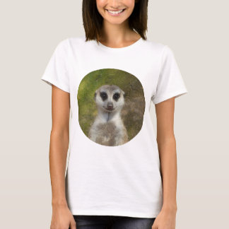 Funny Meerkat 002 02_rd T-Shirt