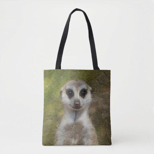 Funny Meerkat 002.03 Tote Bag