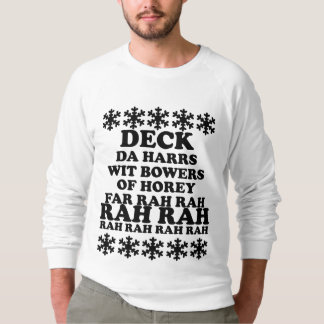 Funny Men's Deck the Halls Ugly Christmas Sweater