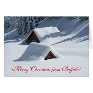 """Funny """"Merry Christmas From (your town/state)"""" Card"""