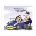 Funny Midlife Crisis Postcard